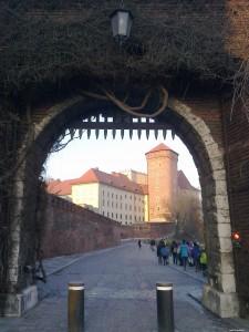 Brama na Wawelu