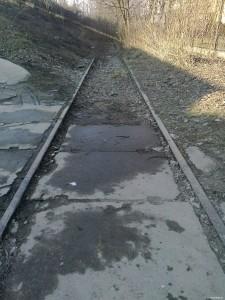 Dawne Tory kolejowe - Zabłocie