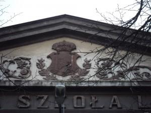 Herb Podgórza - ul.Limanowskiego