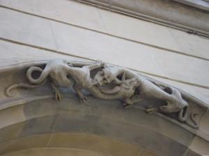 Kamienica  Pod  Jaszczurami