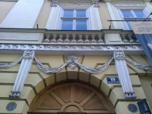 W tym domu mieszkał ks.Karol Wojtyła