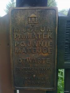 Muzeum Pamiatek po Janie Matejce