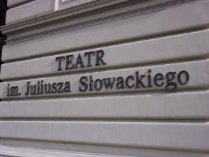 Napis - Teatr im. Juliusza Słowackiego