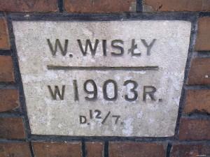 Poziom Wisły w 1903r.