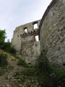 Ruiny zamku Tenczyn  w  Rudnie