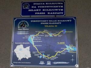 Sucha Beskidzka - szlak kolejowy przez Karpaty