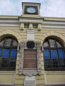 Tablica  informacyjna - Dworzec Główny