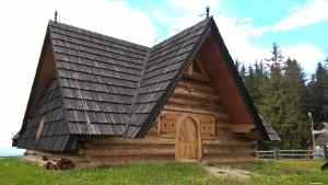 Zabytkowa chata - Zakopane