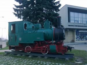 Zabytkowa lokomotywa w Chrzanowie