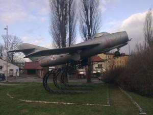Samolot w Andrychowie